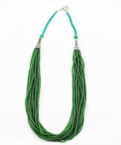 Emerald_Green_Multi_String_Hanmade_Necklace