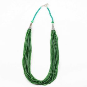 Emerald_Green_Multi_String_Hanmade_Necklace