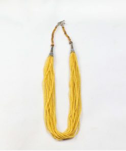 Yellow Zircon Multiple string Necklace for your beloved, Handmade